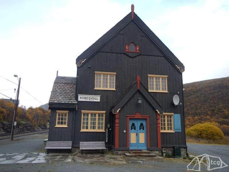 dovrefjell-kongsvoll-bahnstation