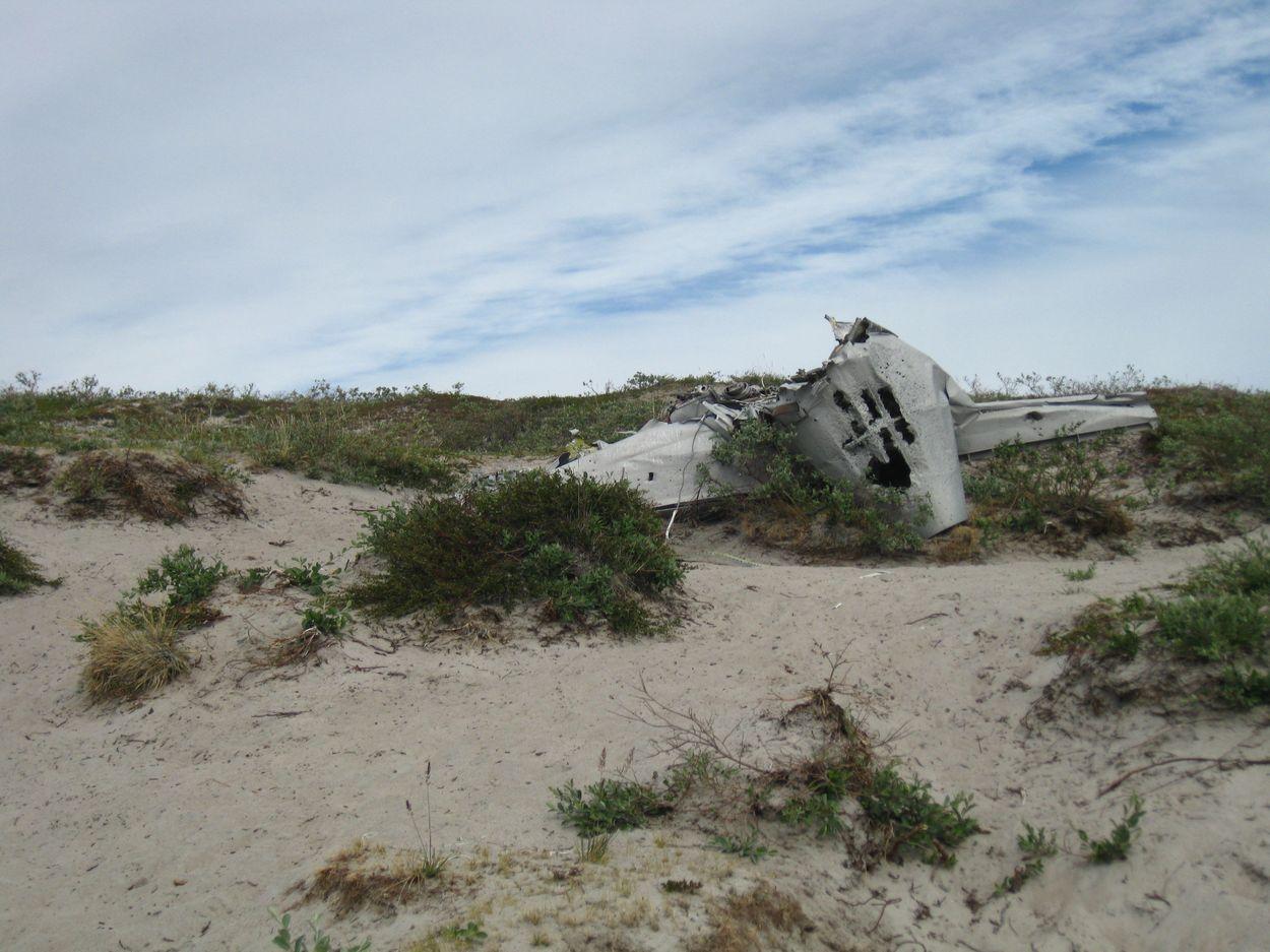 Überreste der Maschinen